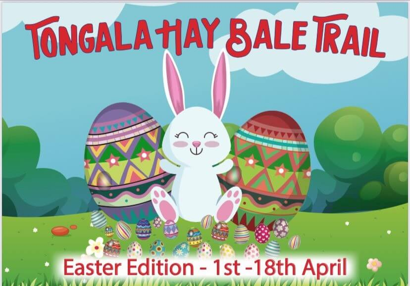 Easter Hay Bale Trail