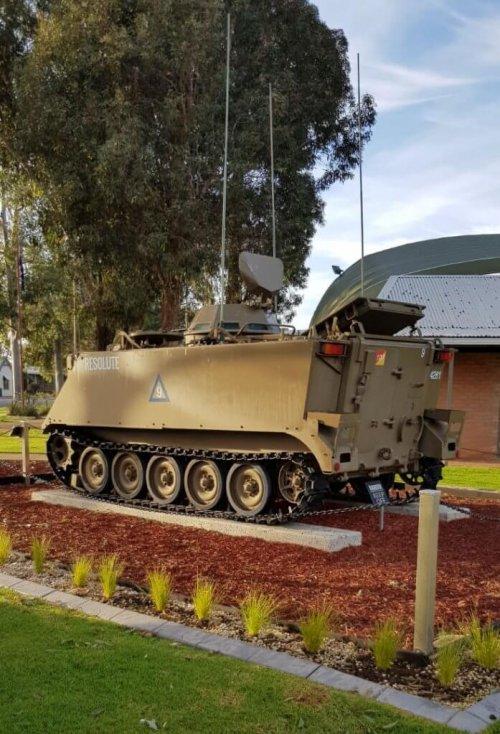 Cavalry War Memorial Tank